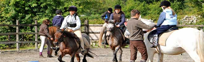 """""""The Slieve Aughty Riding and Activity Centre Galway"""""""