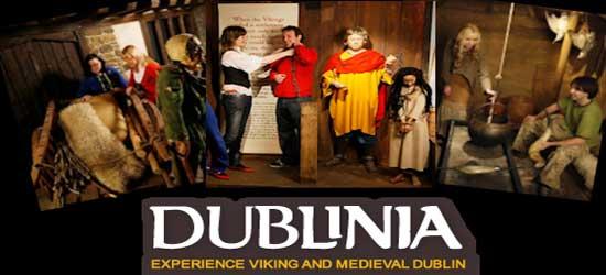 """Dublinia family attraction in Dublin"""