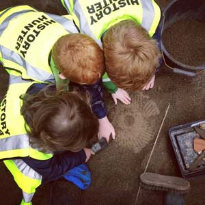 """The School of Irish Archaeology camps"""