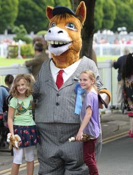 """Family Entertainment At The Dublin Horse Show"""