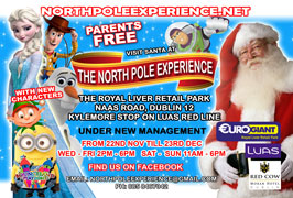 """The North Pole Experience in Dublin"""