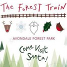 """The Forest Train to visit Santa"""