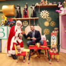 """Santa under the Clerys Clock"""