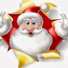 """Santa at Tearaways Pet Farm"""
