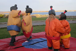 """Kids Sumo Suits Galway"""
