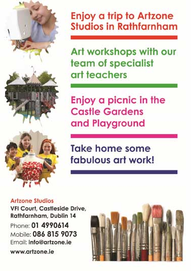 """""""School Tours at Artzone Art and Craft Workshops Dublin"""""""