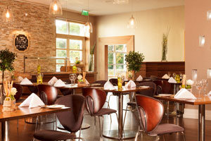 """The Brasserie restaurant at Castleknock Hotel"""