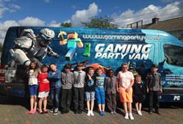 """""""Gaming Party Van in Dublin"""""""