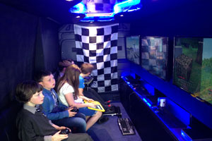 """""""Gaming Party Van"""""""