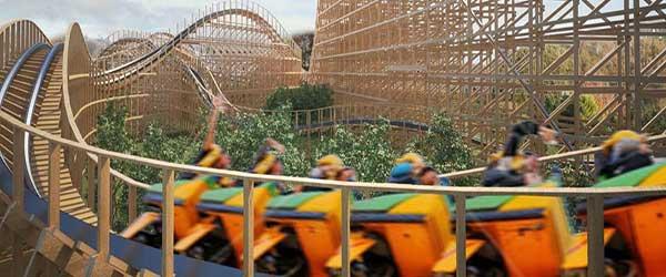 """""""Tayto Park Rollercoaster - The Cú Chulainn Coaster"""""""