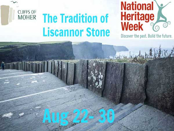 """National Heritage Week at the Cliffs of Moher"""