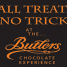 """""""Halloween treat, no trick at the Butlers Chocolate Experience"""""""