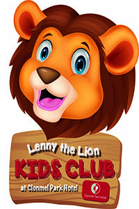 """Lenny the Lion's Kids Club at Clonmel Park Hotel"""