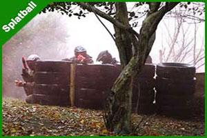 """Splatball at Westport Wargames Adventure Park"""
