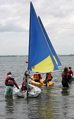 """Summer Sailing Camps"""