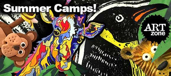 """Artzone Kids Summer Camps"""