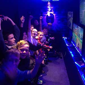 """Gaming Party Van For Kids Birthday Parties"""