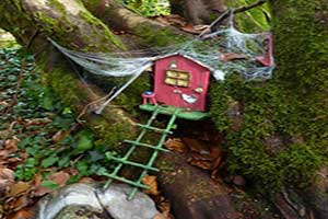 """Irish Fairy Trail fairy home"""