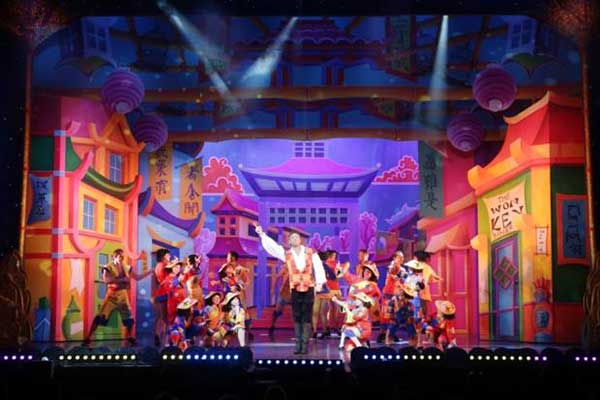 """Christmas Panto Aladdin in the Clasac Theater"""