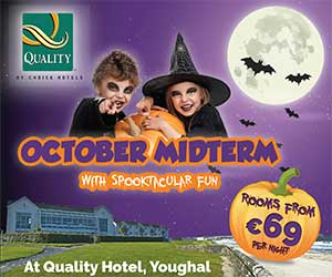 """Quality Hotel Youghal Halloween Breaks"""