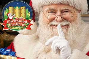 """Santa's Enchanted Castle Christmas Event"""