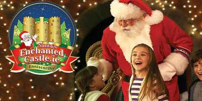 """Santa's Enchanted Castle Christmas Event Wexford"""