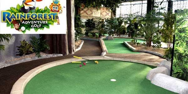 """""""Rainforest Adventure Indoor Mini Golf"""""""