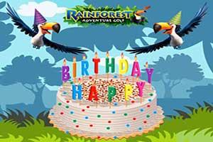 """""""Rainforest Adventure Golf Birthday Parties"""""""