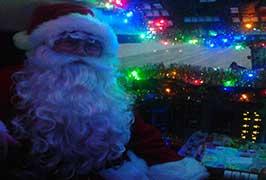 """Santa at Atlantic AirVenture Aviation"""