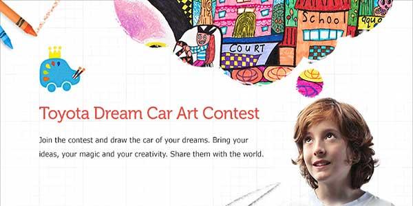 """Toyota Ireland Dream Car Art Contest"""