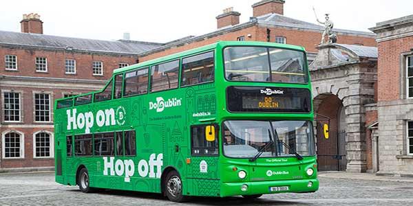 """Do Dublin Hop on Hop off Tour"""
