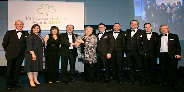 """Lullymore Heritage & Discovery Park Tourism Award"""