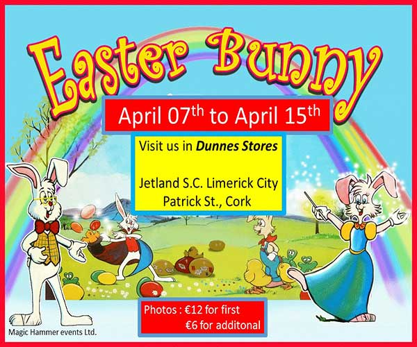 """""""Easter Bunny Dunnes Stores"""""""
