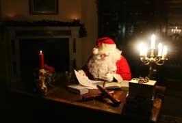 Visit Santa in Wells House & Gardens, Wexford