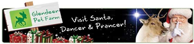 Santa At Glendeer Pet Farm