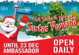Santa Playland At The Ambassador