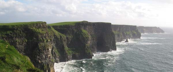 """Cliffs of Moher in Clare"""