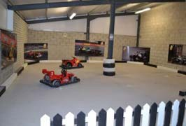 """Ardmore Open Pet Farm Indoor Karting Area"""