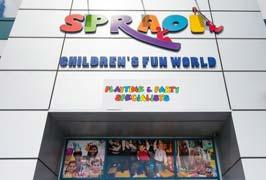 """Spraoi Children's Fun World Play Centre Dublin"""