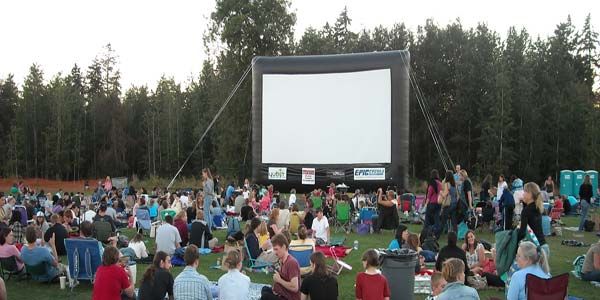 """""""Outdoor Movies In The Park in Marlay Park Dublin"""""""