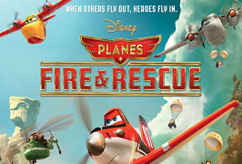 """""""Disney's Planes, Fire and Rescue Kids Movie"""""""