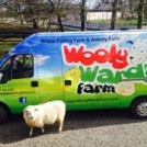 """Wooly Ward's Mobile Petting Farm"""
