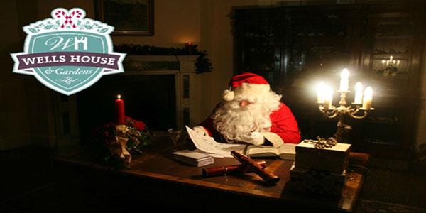 """Visit Santa in Wells House Wexford"""