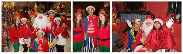 """""""Santa Claus at The Chocolate Warehouse"""""""