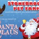 """Santa At Stonebrook Pet Farm """