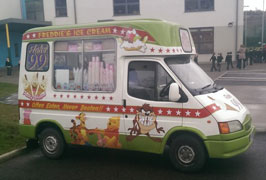 """Freddies Ice Cream Van Hire"""