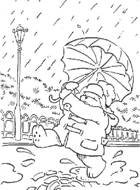 Paddington Bear Colouring Pages