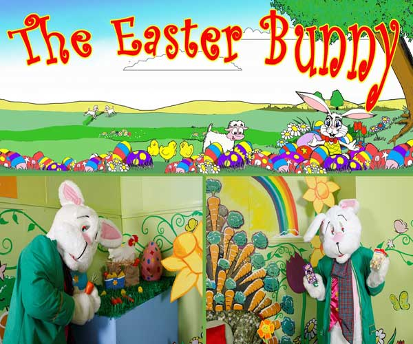 """Easter Bunny in the Jetland Shopping Centre Limerick"""