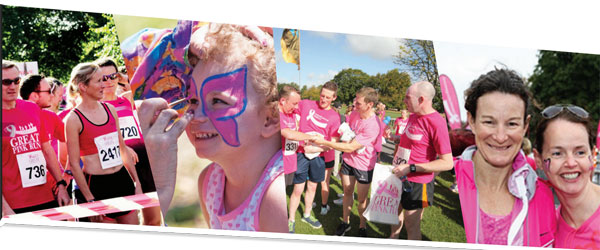 """""""The Great Pink Run In Aid Of Breast Cancer Ireland"""""""