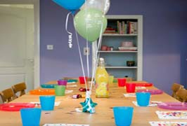 """Parties at Kids Cook"""